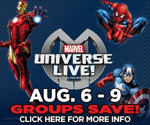 Groups Save on Marvel Live