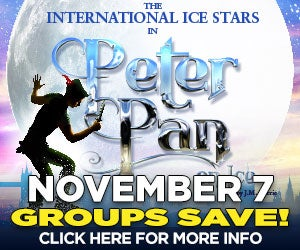 Groups Save on Peter Pan on Ice
